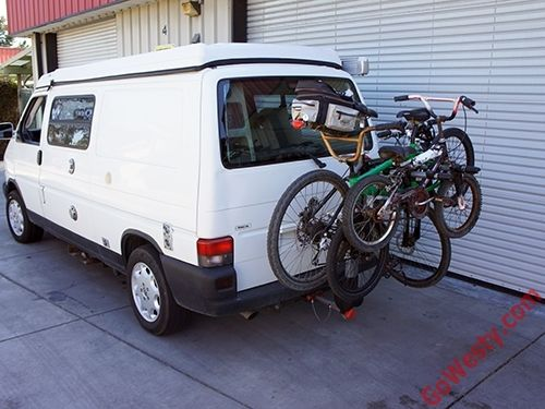 Yakima Ridgeback 4 Hitch Mounted Bike Rack 4 Bikes Bike Rack Vw Vanagon Bike