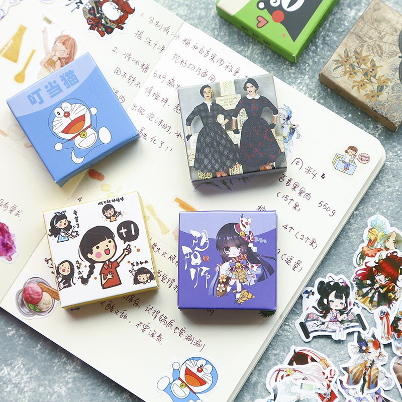 Doraemon Sealing Stickers 40pc Cute Cartoon Planner Diary Diy Doraemon House Paper Craft Diy Paper Crafts Crafts Paper Crafts Diy Diary Diy Diy Gift Box