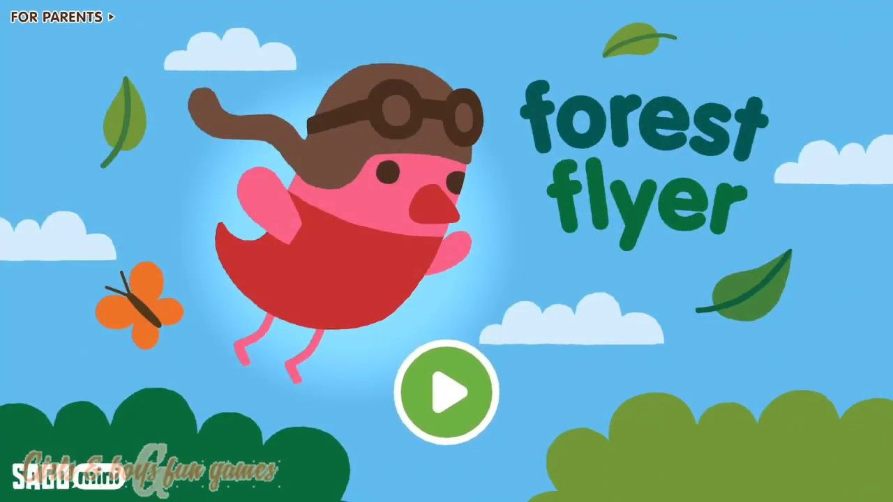 Sago Mini Forest Flyer Best Educational Game App for