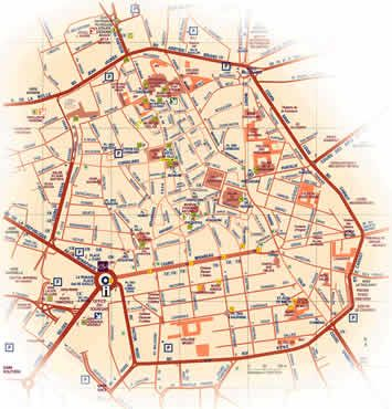 Aix en Provence map Great info for provence tourism in general