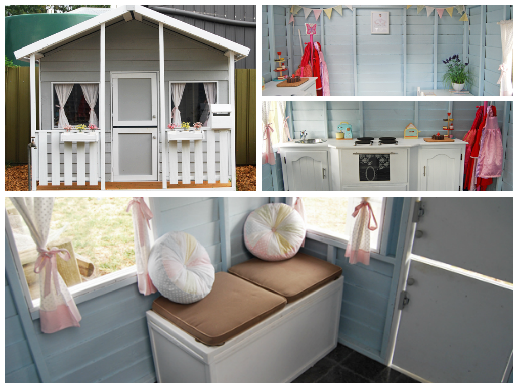 Cubby House Paint Scheme s and Design Ideas  Tips and Tricks. Cubby House Paint Scheme s   Design Tips   Cubby houses  Blog and Tips