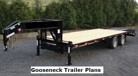 Fantastic Gooseneck Trailer Plans Trailer Plans Pinterest Free Trailer Largest Home Design Picture Inspirations Pitcheantrous