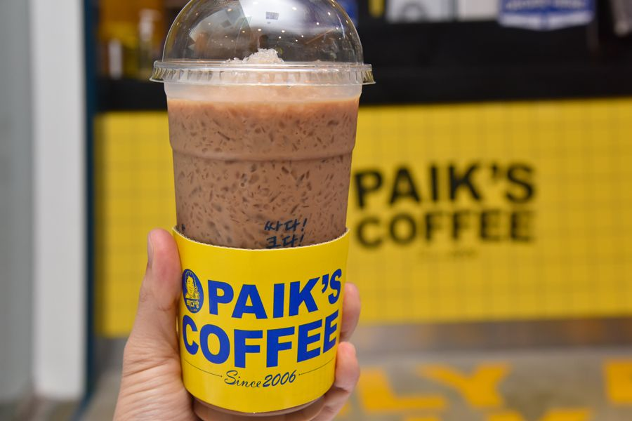 Paik S Coffee Popular Korean Cafe Chain Arrives In Singapore Offering Relatively Cheap Coffee Korean Cafe Cheap Coffee Korean Coffee