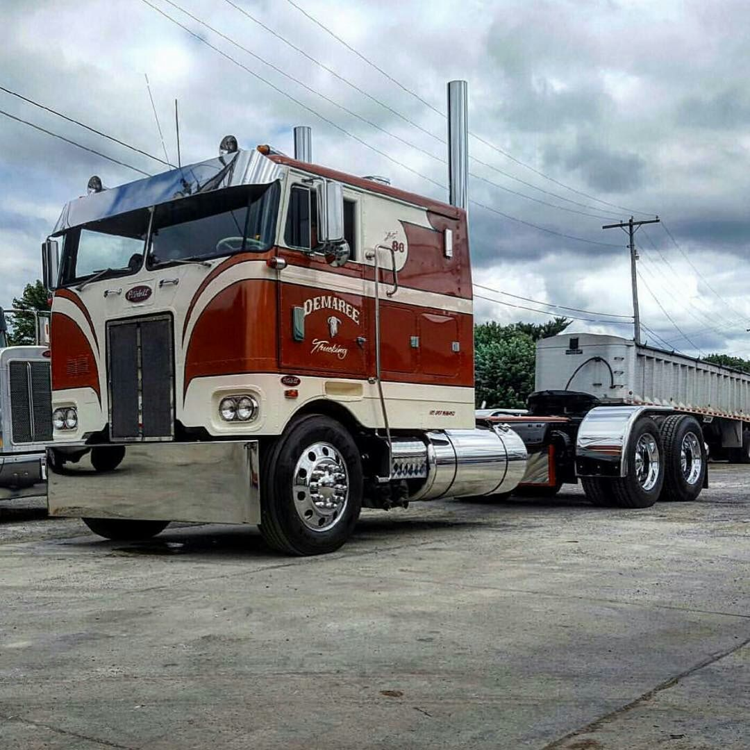 Craigslist Cabover Freightliner: Coe Peterbilt Custom 352