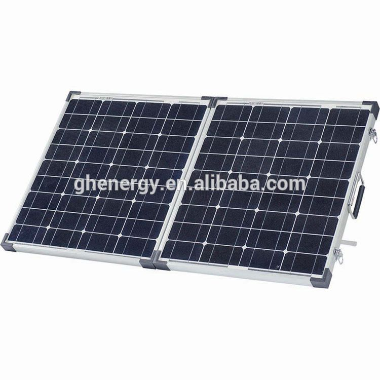 Gh Solar 12v 120w Folding Cigs Solar Panel Mobile Power Bank Solar Panels Solar Flexible Solar Panels
