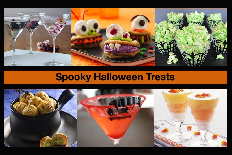 Eat, Drink and Be Scary with Spooky Halloween Treats Scary, Scary - spooky halloween food ideas