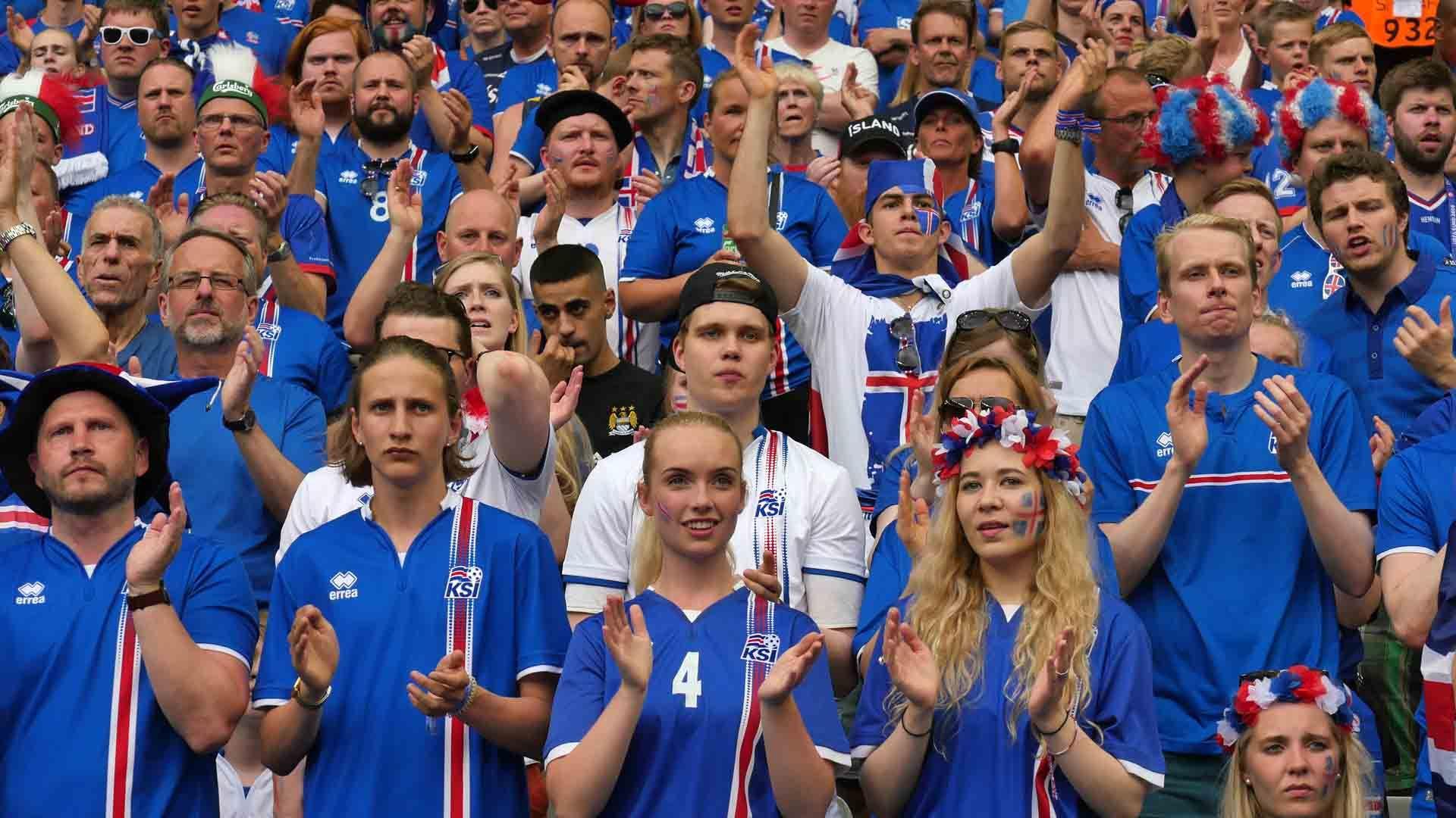 Supporter islandais EURO 2016 35 Islande