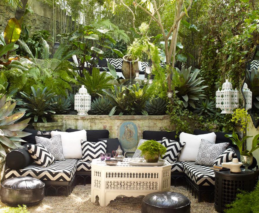 11 Ways to Turn Your Home into a Moroccan Oasis | Backyard ... on Moroccan Backyard Design  id=30131