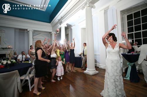 bridesmaid toss