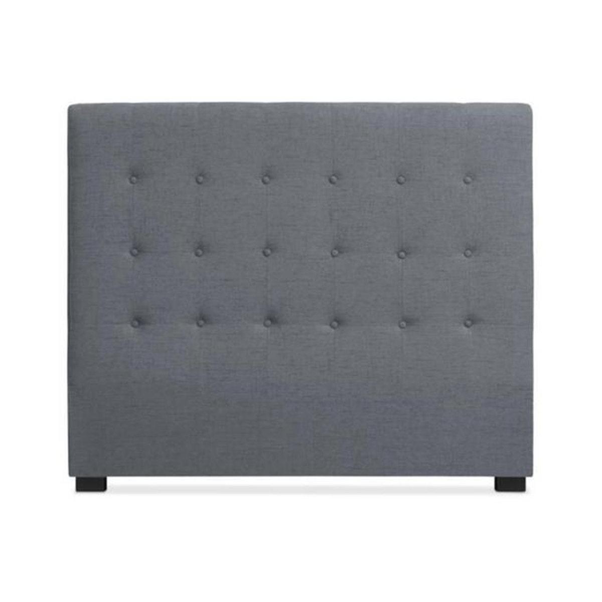 Tete De Lit Tissu Gris 140 Cm Luxury Decoration Maison Tete De Lit Conforama Et Table De Lit