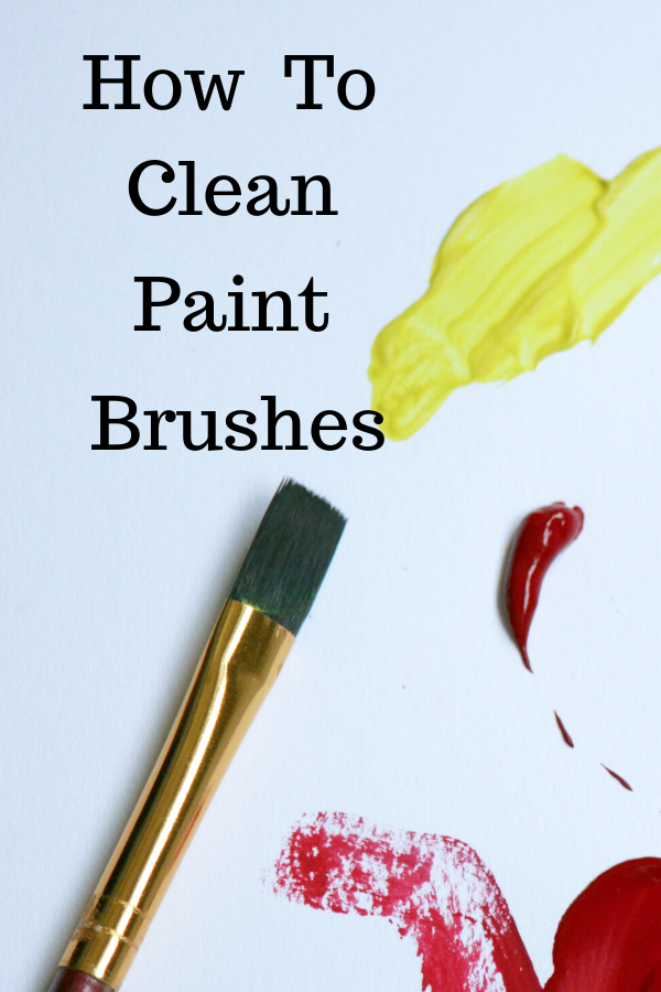 How To Clean Your Paint Brushes In 2020 Oil Painting For Beginners Oil Paint Brushes Cleaning Paint Brushes