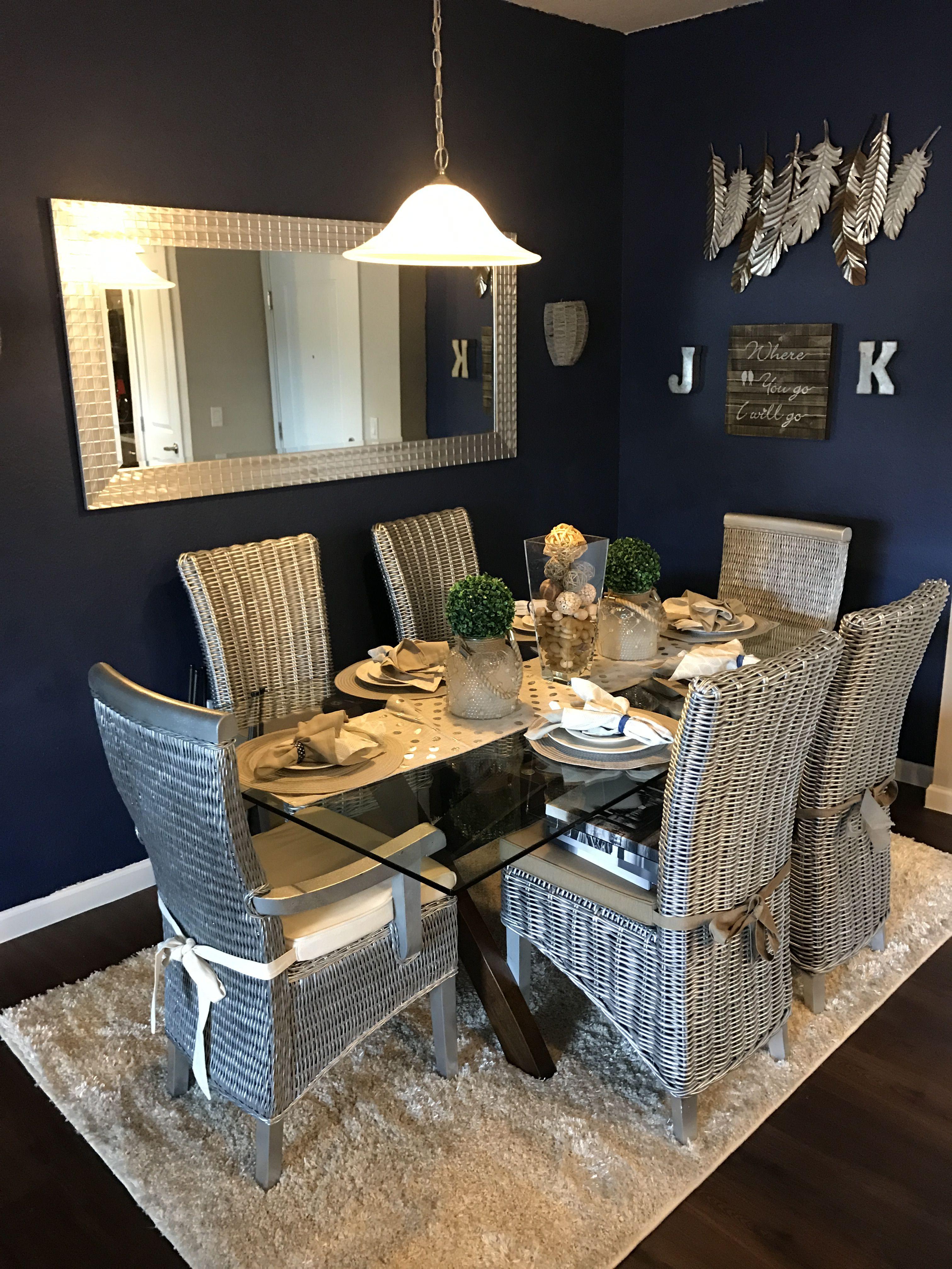 Navy Blue And Silver Home Decor Horitahomes Com