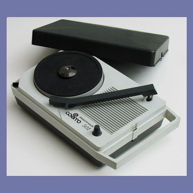 Cosmo 501 Portable Record Player Portable Record Player Record Player Turn Table Vinyl