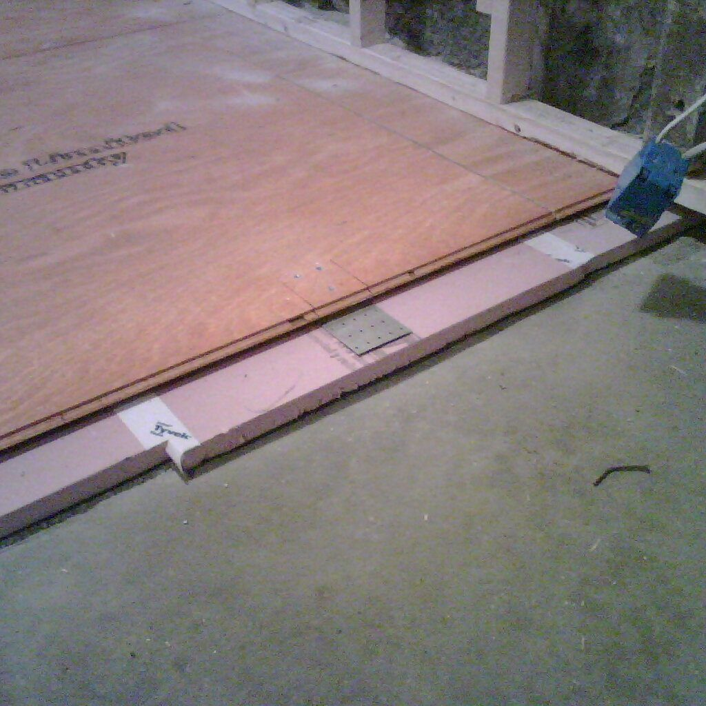 Rigid Insulation Under Wood Floor