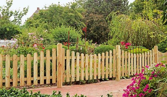 Friesenzaun Friesenzaun Gartenzaun Holz Garten