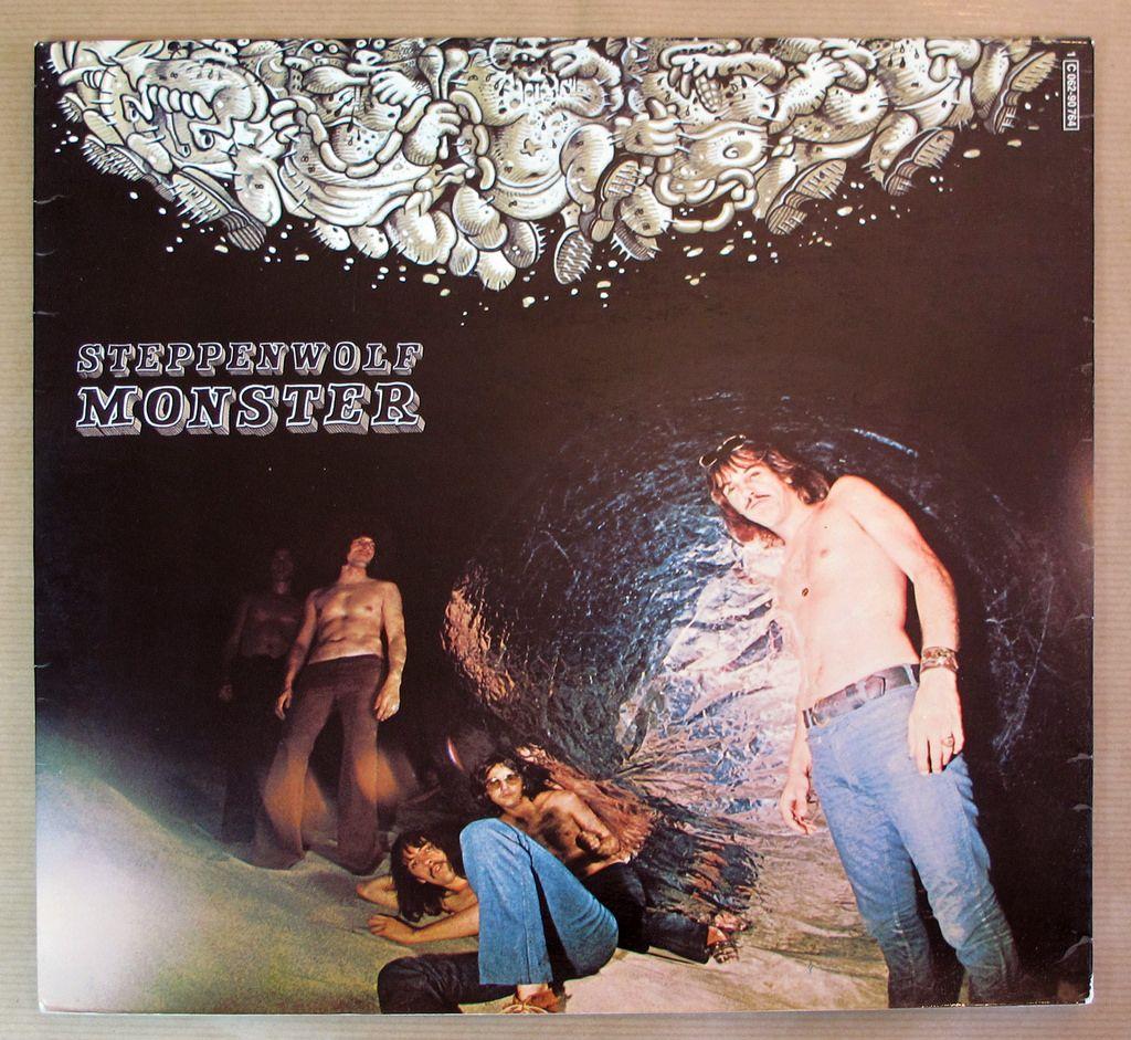 Steppenwolf Monster Foc 12 Lp Vinyl Rock Album Covers Album Cover Art Album Covers