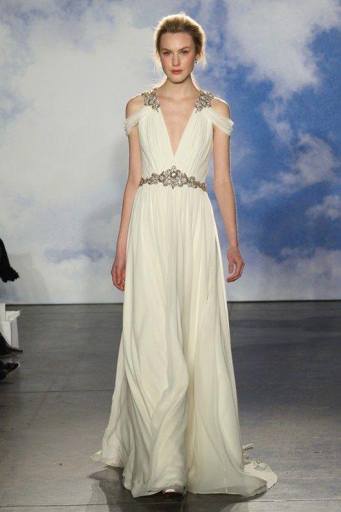Chic Trends: Tendências para vestidos de noiva da Temporada Bridal Spring 2015! #noiva #vestido #trends #casamento #JennyPackham