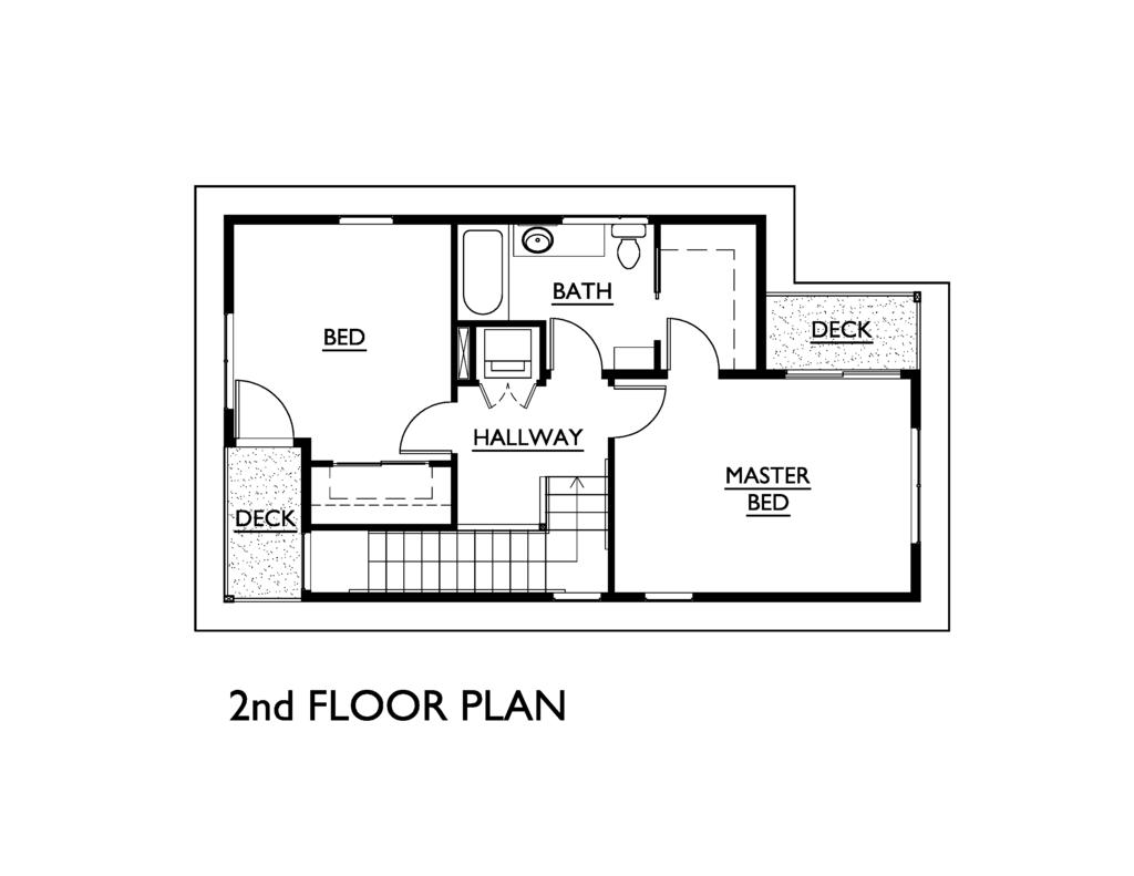 Modern Style House Plan 3 Beds 1 5 Baths 1248 Sq Ft Plan 890 5 Modern Style House Plans Small House Plans How To Plan