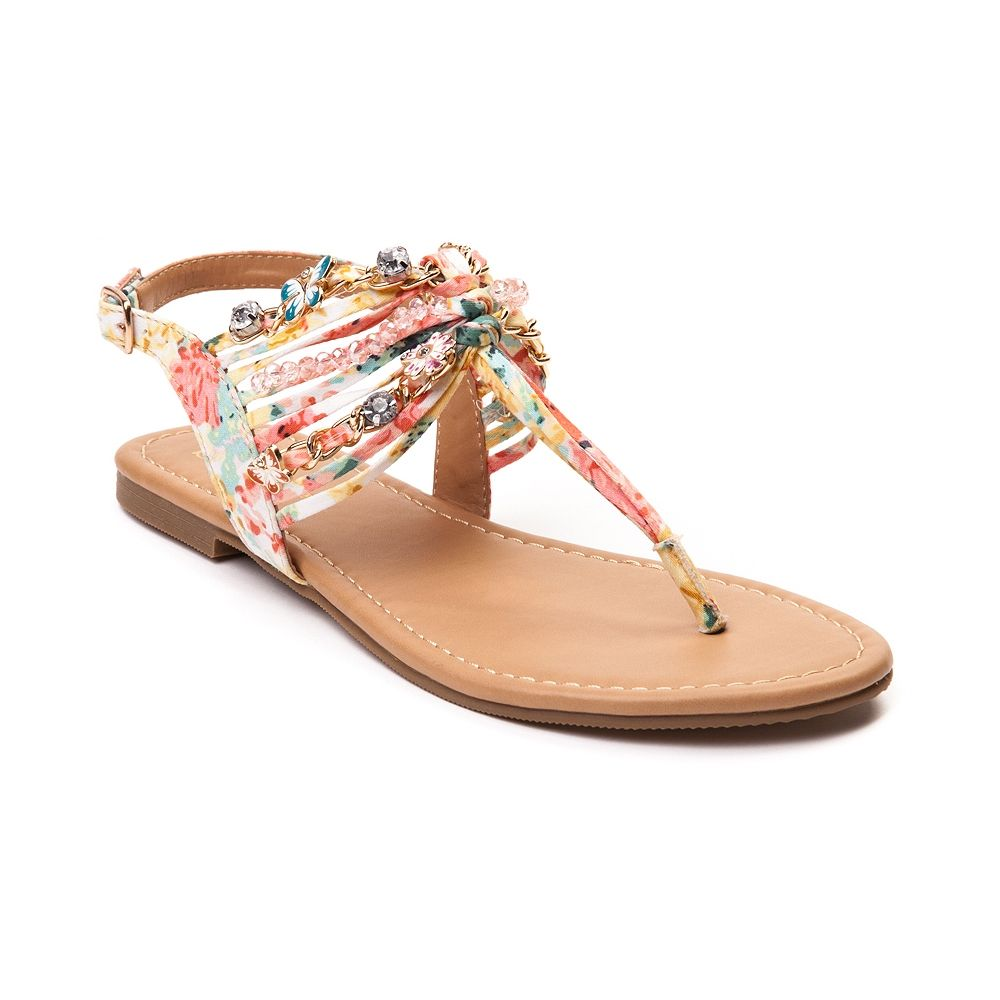 0c8f78f77c3 Womens SHI by Journeys Sandy Sandal