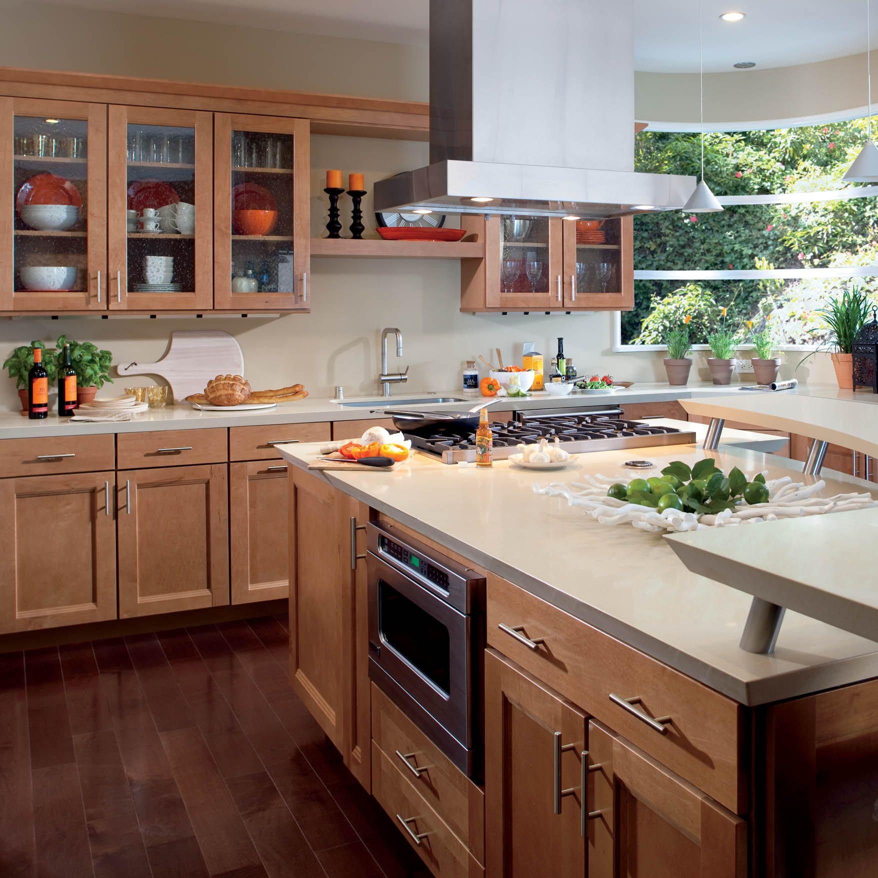 Selecting Wood Floors Maple Kitchen Cabinets Kitchen Design Interior Design Kitchen