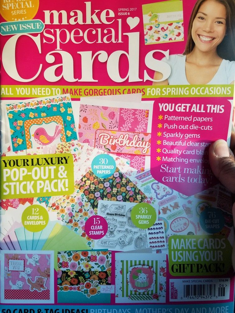 Pin by Eileen Fields on UK Card Magazines | Special cards ...