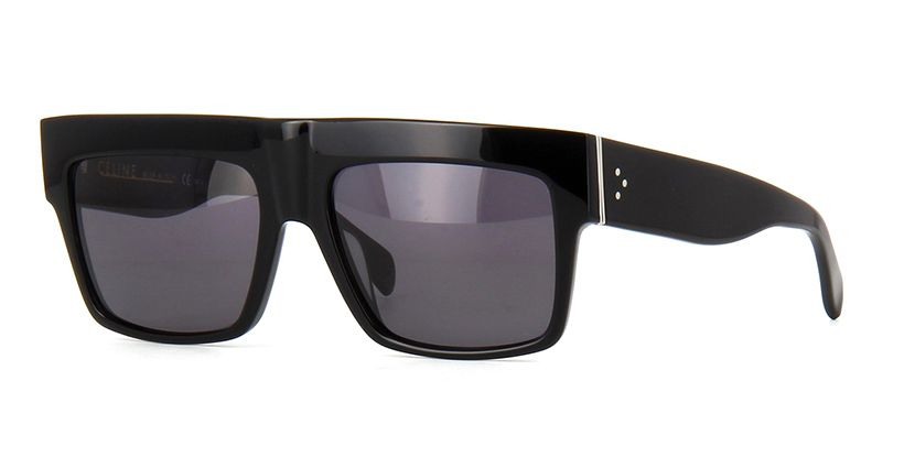 51f3ace4e58c Céline ZZ Top CL41756 8073H Polarised Kardashian Black Sunglasses