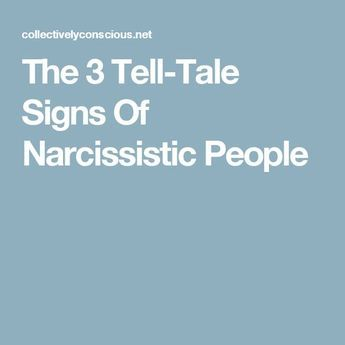 Reason for Narcissist Signs Of Tell Tale A Mumbais
