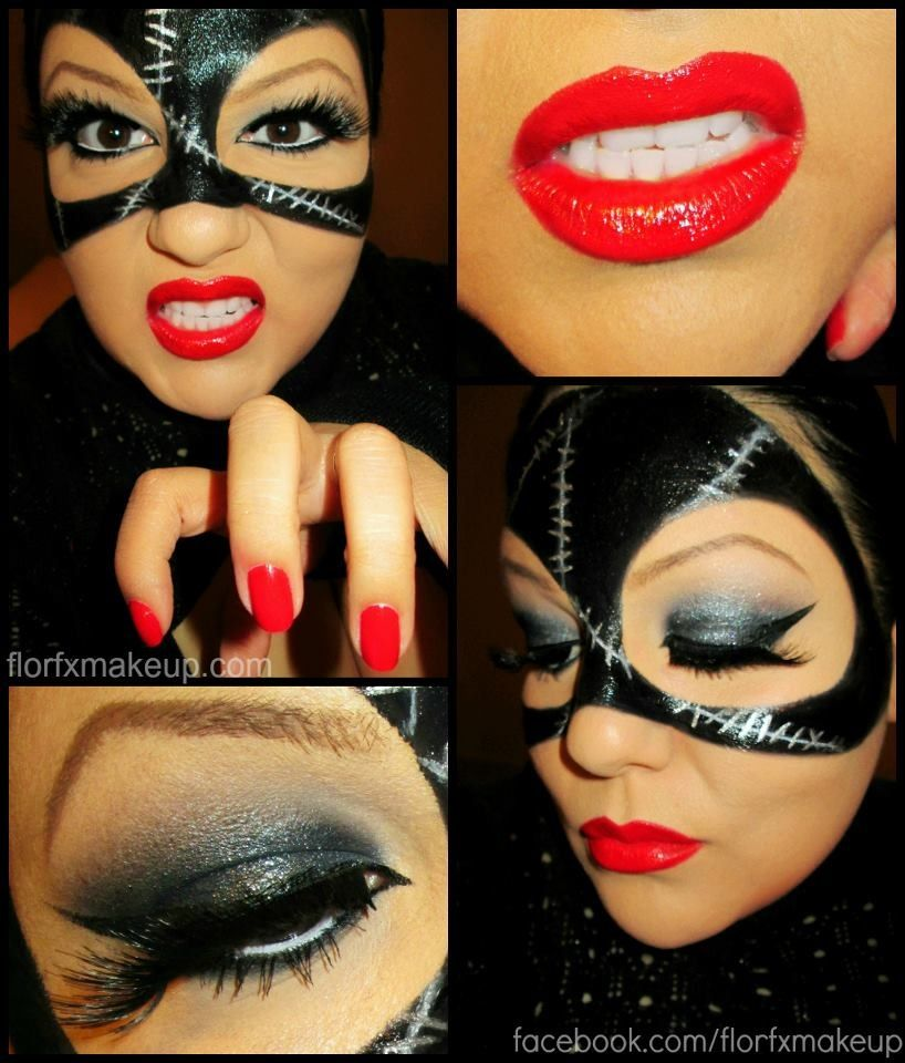 Trucco Halloween Catwoman.Amazing Catwoman Makeup Costumes Ilovehalloween Catwoman