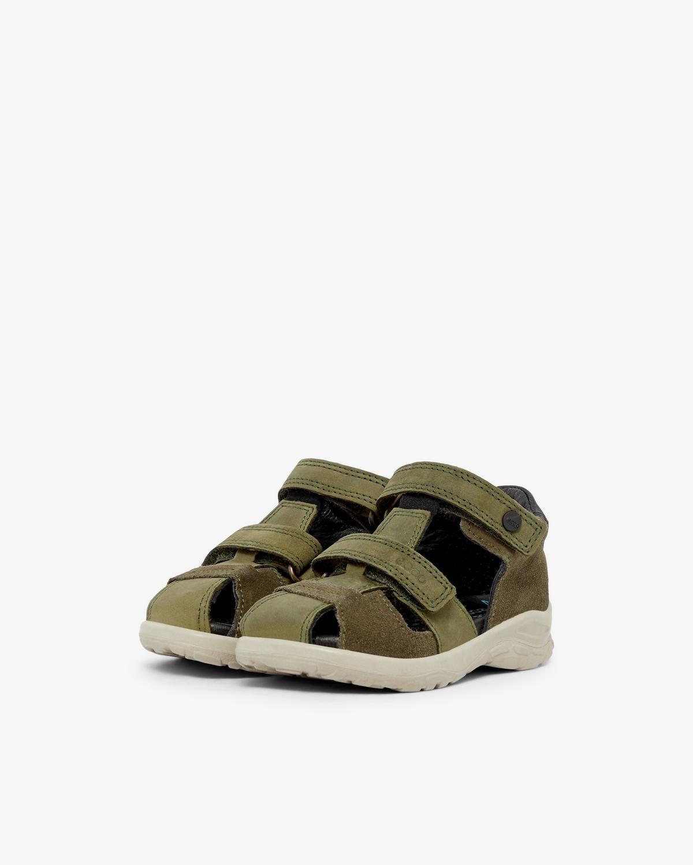 0d7fea72eb2 ECCO Peekaboo sandaler - Mørkegrøn | Baby inventory | Baby Gear ...