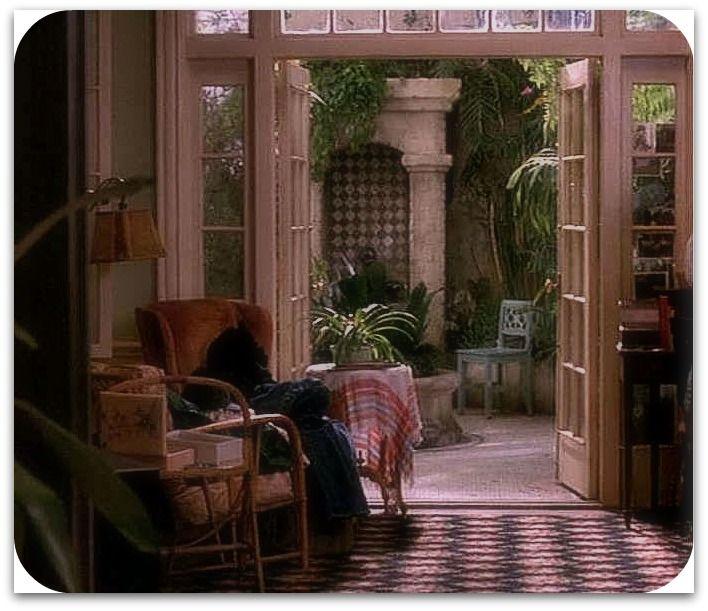 Movies That Inspire Me Green Card Miss Flibbertigibbet Green Cards Conservatory Garden Room