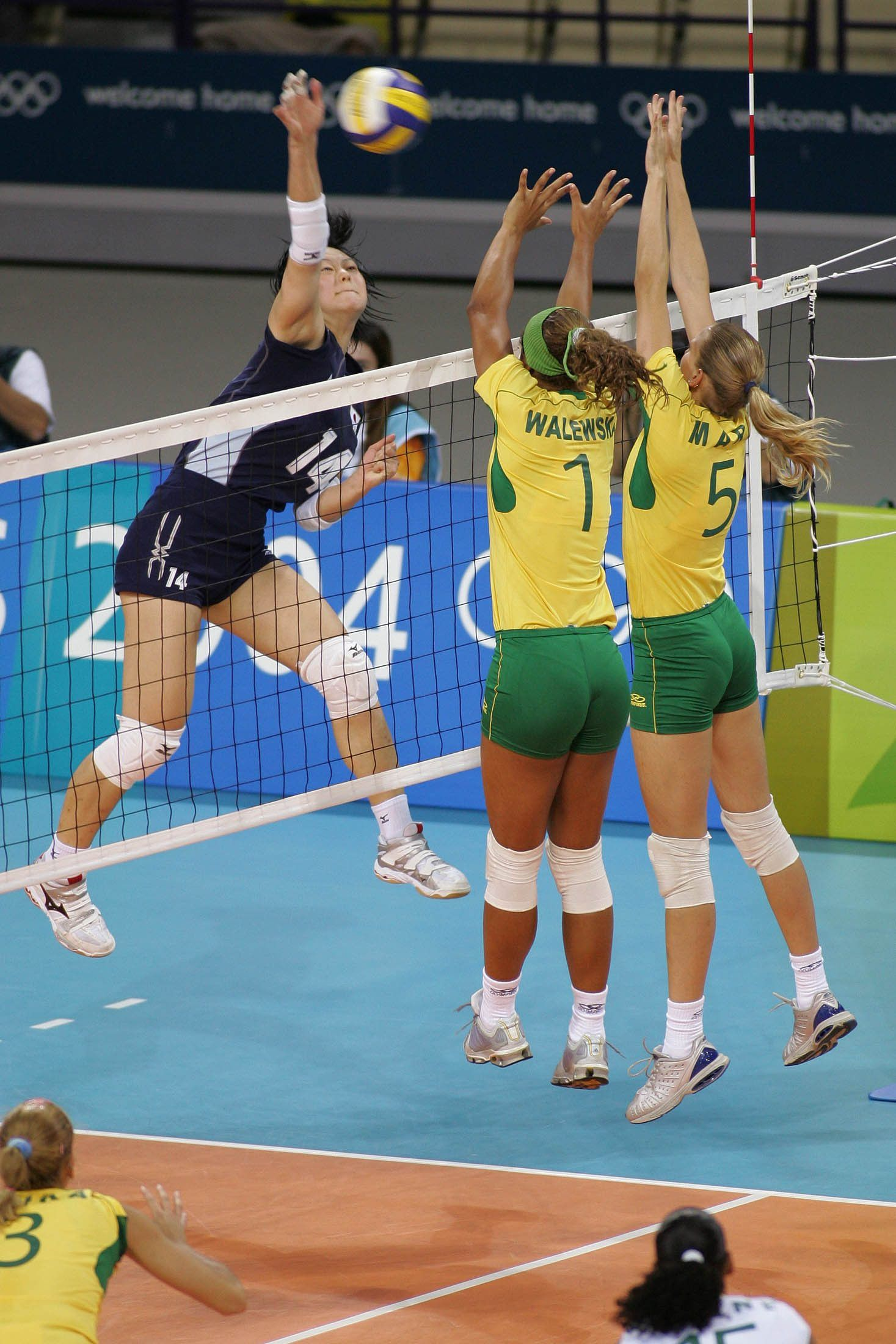 Brazil Women S Volleyball Olympic Games 2004 Women Volleyball Olympic Games Brazil Women