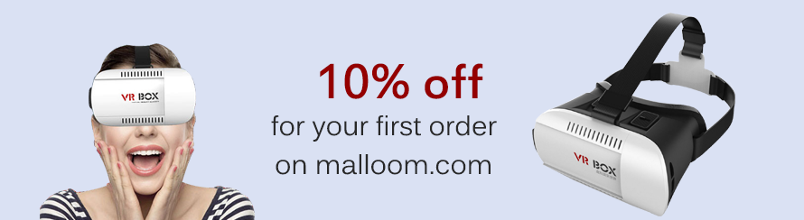 Save 10% off for your first order on malloom.com