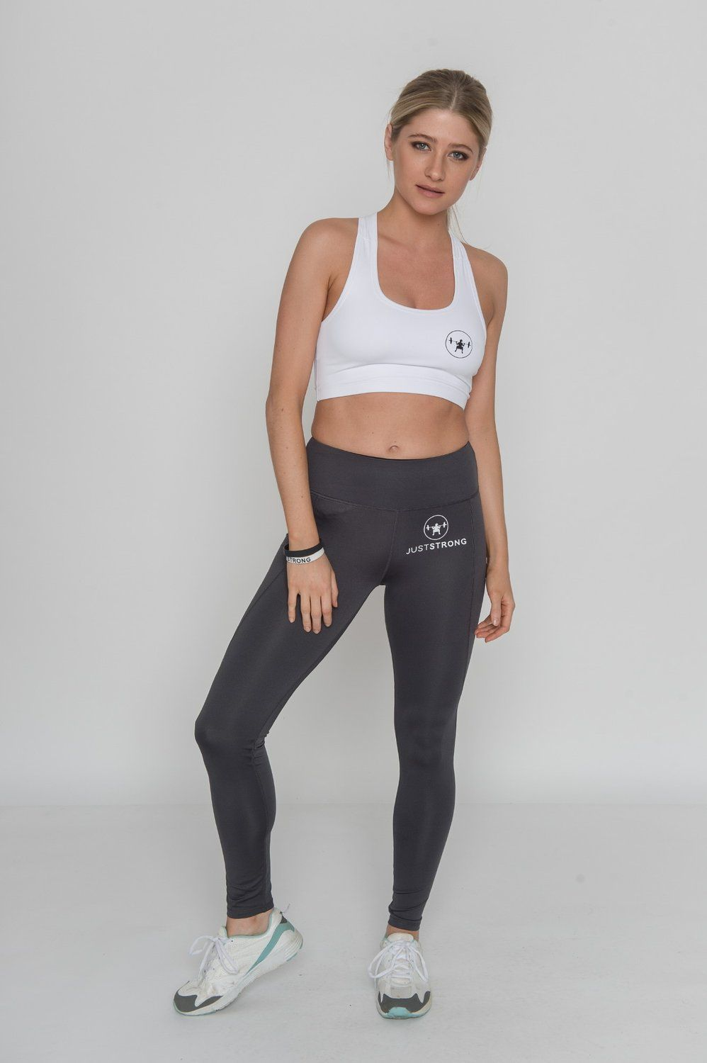 6a0c88b9233 Sport Wear · CHARCOAL JUST STRONG LEGGINGS   41.44 - Visit Just Strong for  Available Sizes. High waisted