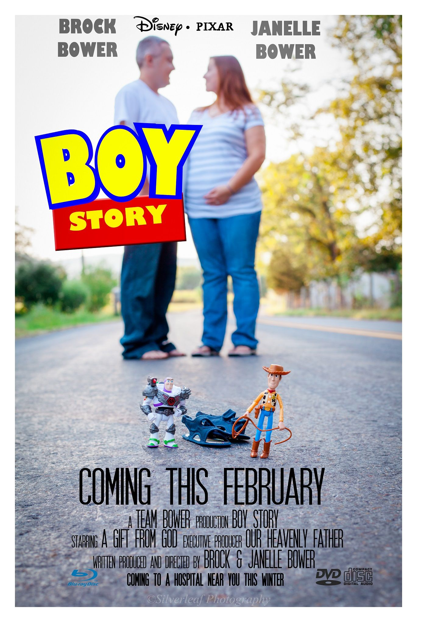 gender reveal movie poster maternity movie baby boy Disney fan