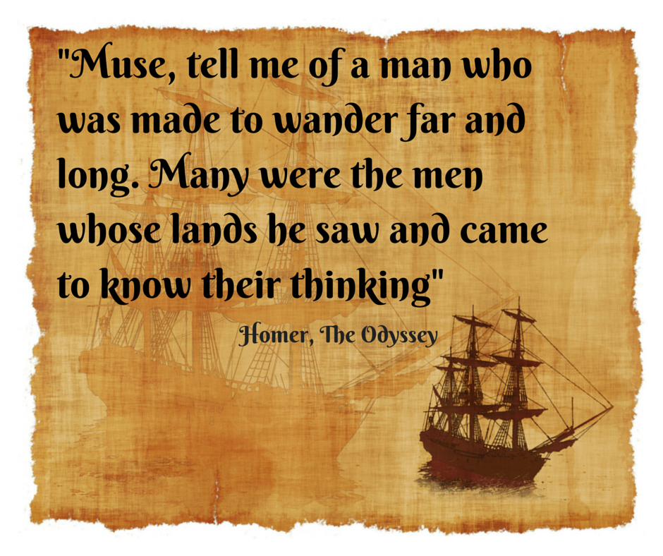 Quote from Homer - The Odyssey | Quotes | Pinterest | The o'jays ...