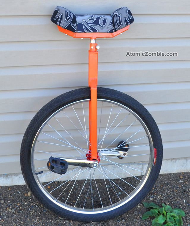 Build Your Own Direct Drive Unicycle Unicycle Unicycles Diy Plans