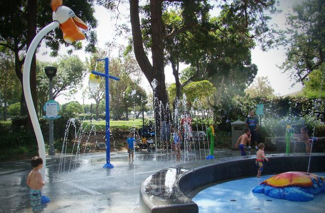 Atlantis Play Center Splash Pad Garden Grove Ca Southern