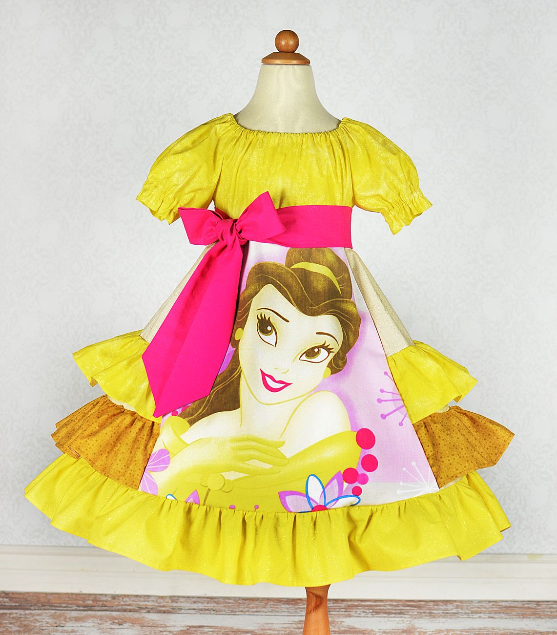 Belle, Beauty And The Beast Dress From Poppy Petals And