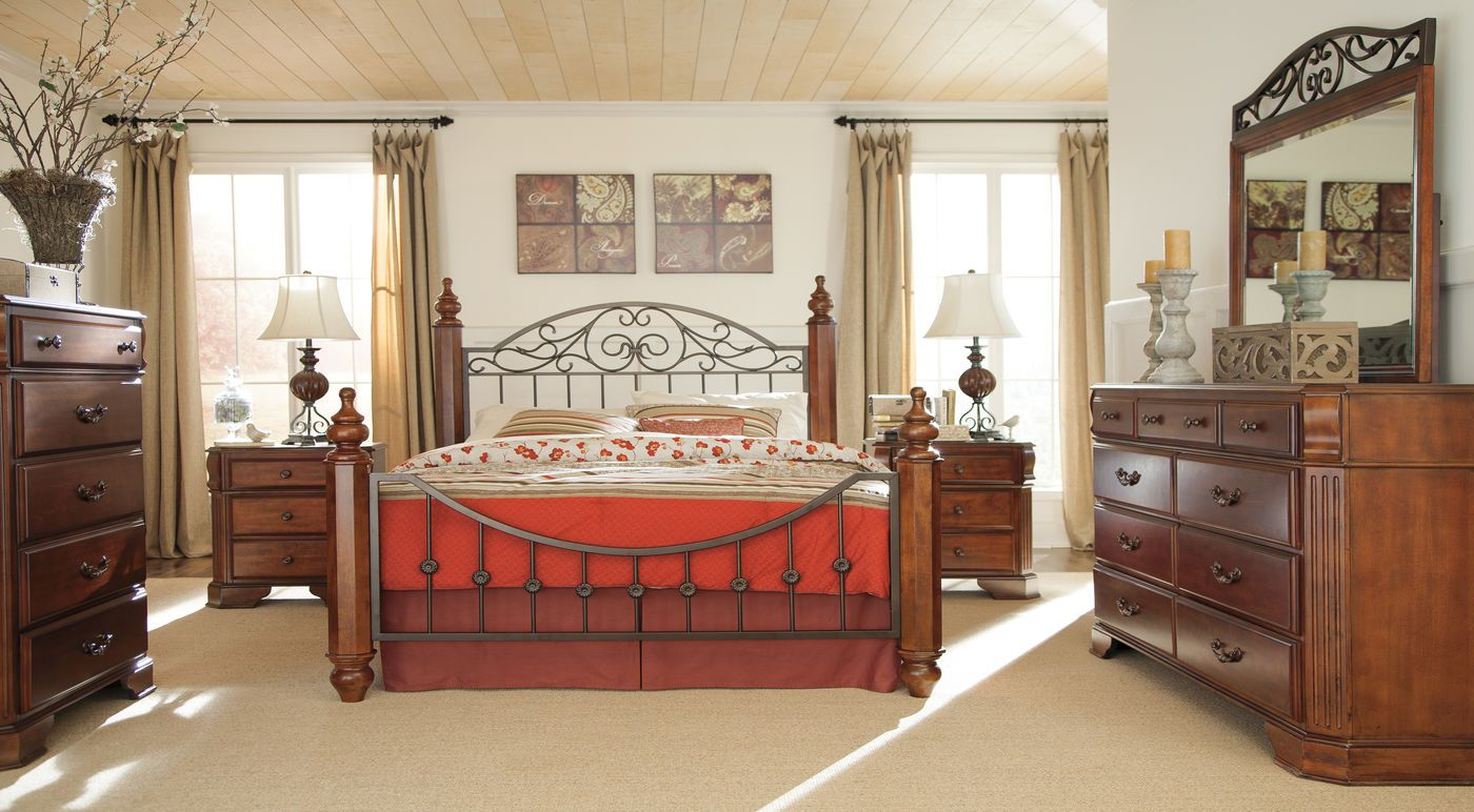Ashley Wyatt Suite Mathis Brothers Furniture