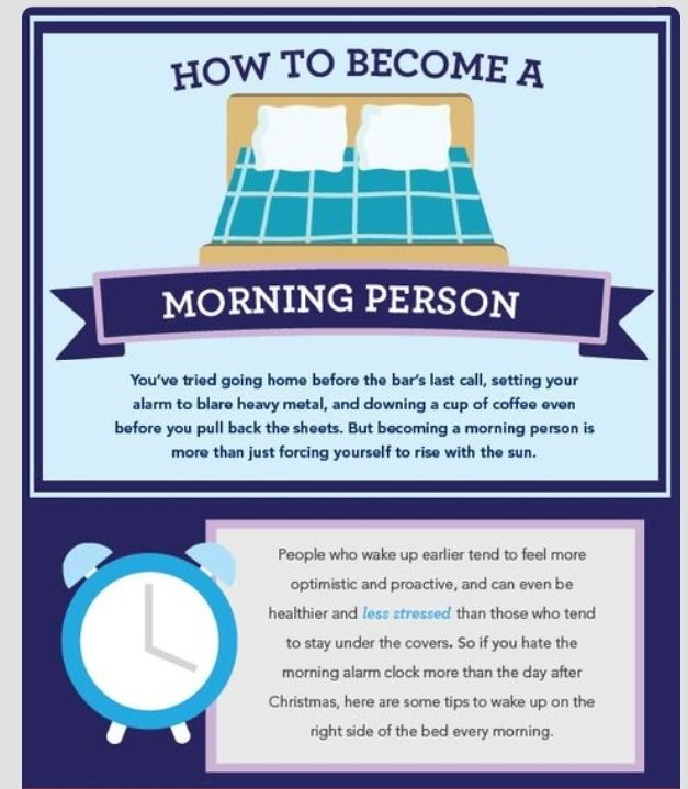 How To Become A Morning Person !!