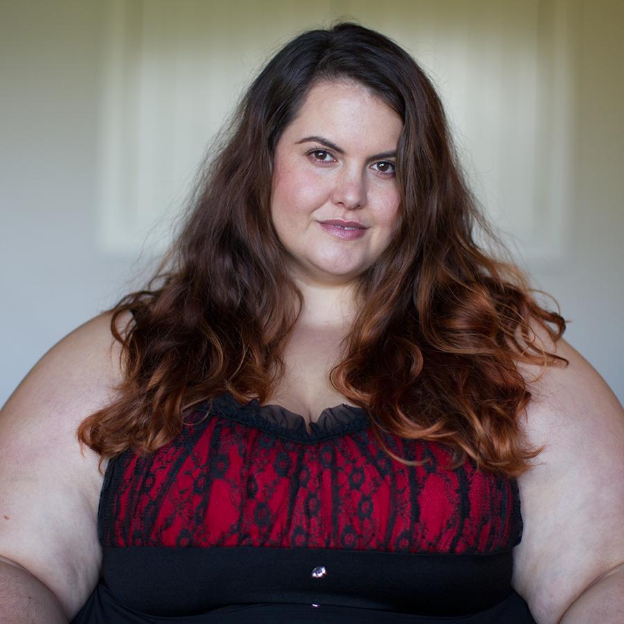 18781c9595 New Zealand style blogger Meagan Kerr wears plus size lingerie from Curvy  Girl Lingerie Curvy Girl
