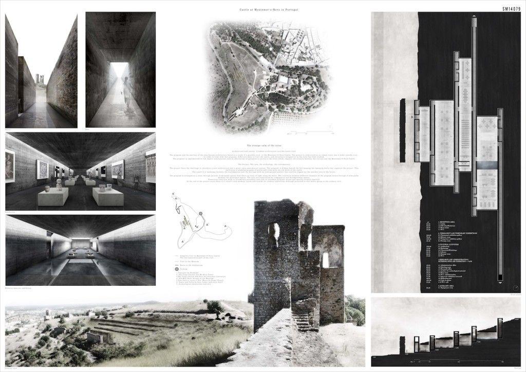 Resultados del Concurso Diseño de un Museo Contemporaneo en el Castillo Montemor-o-Novo, Portugal