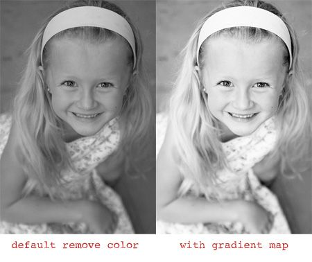 Creating better black and white photos in photoshop elements works in photoshop too