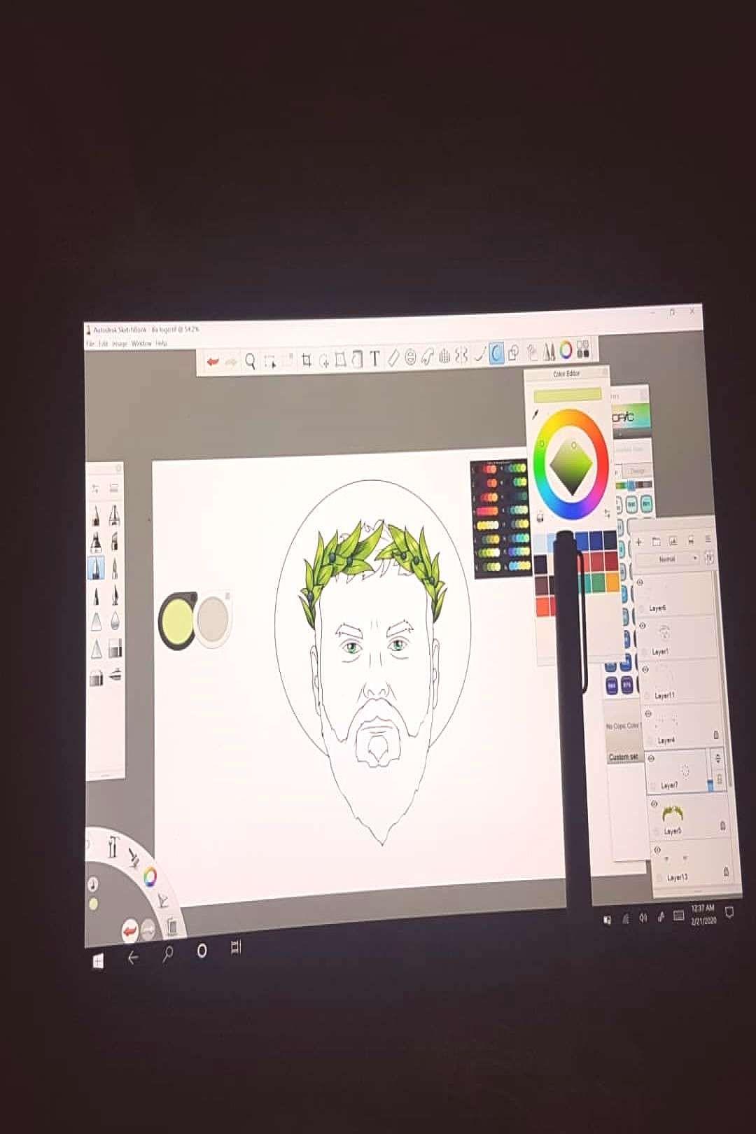 #autodesksketchbook #microsoftsurface #iliasarkhosidis #sarkhosidis #sketchbook #microsoft #february #tagging #shared #202020 #photo #log #by #on #microsoft #micr...