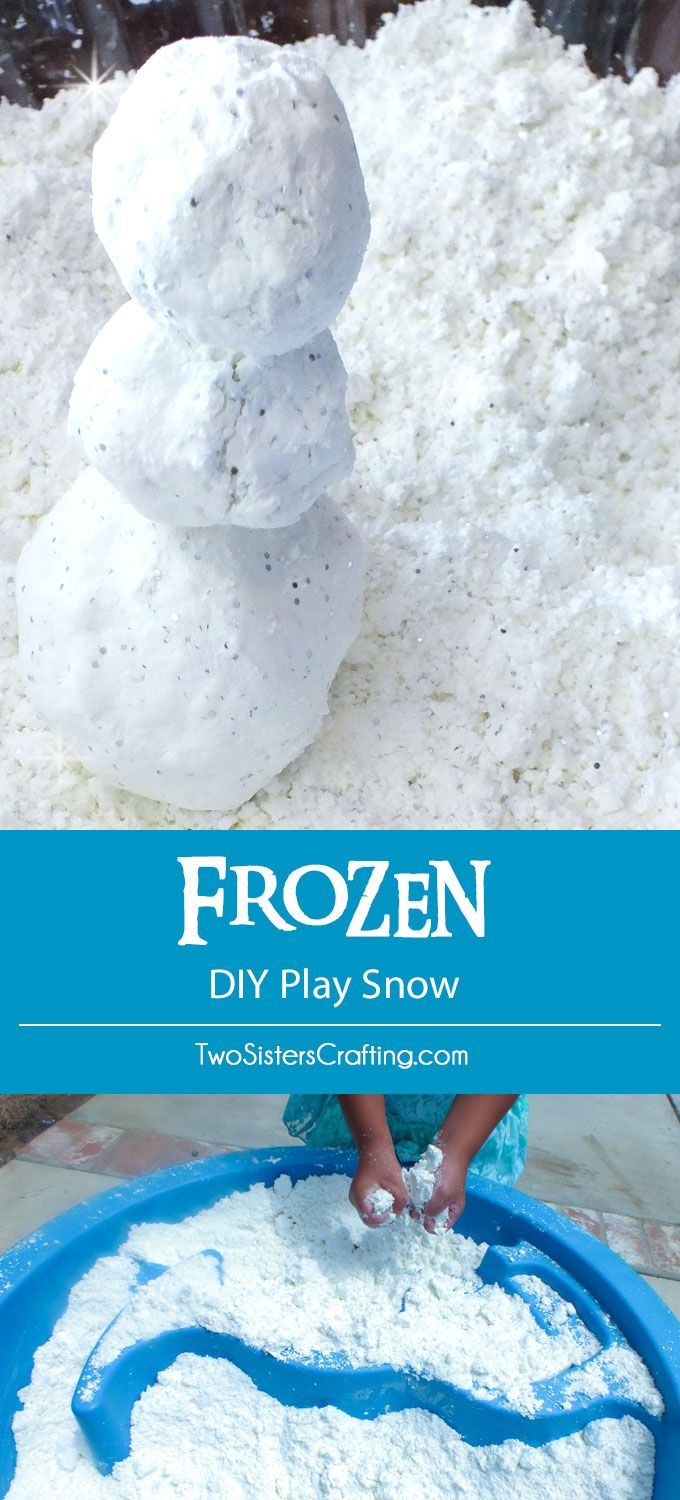 Frozen diy play snow frozen party disney frozen and snowman disney frozen diy play snow for a do you want to build a snowman activity at solutioingenieria Images