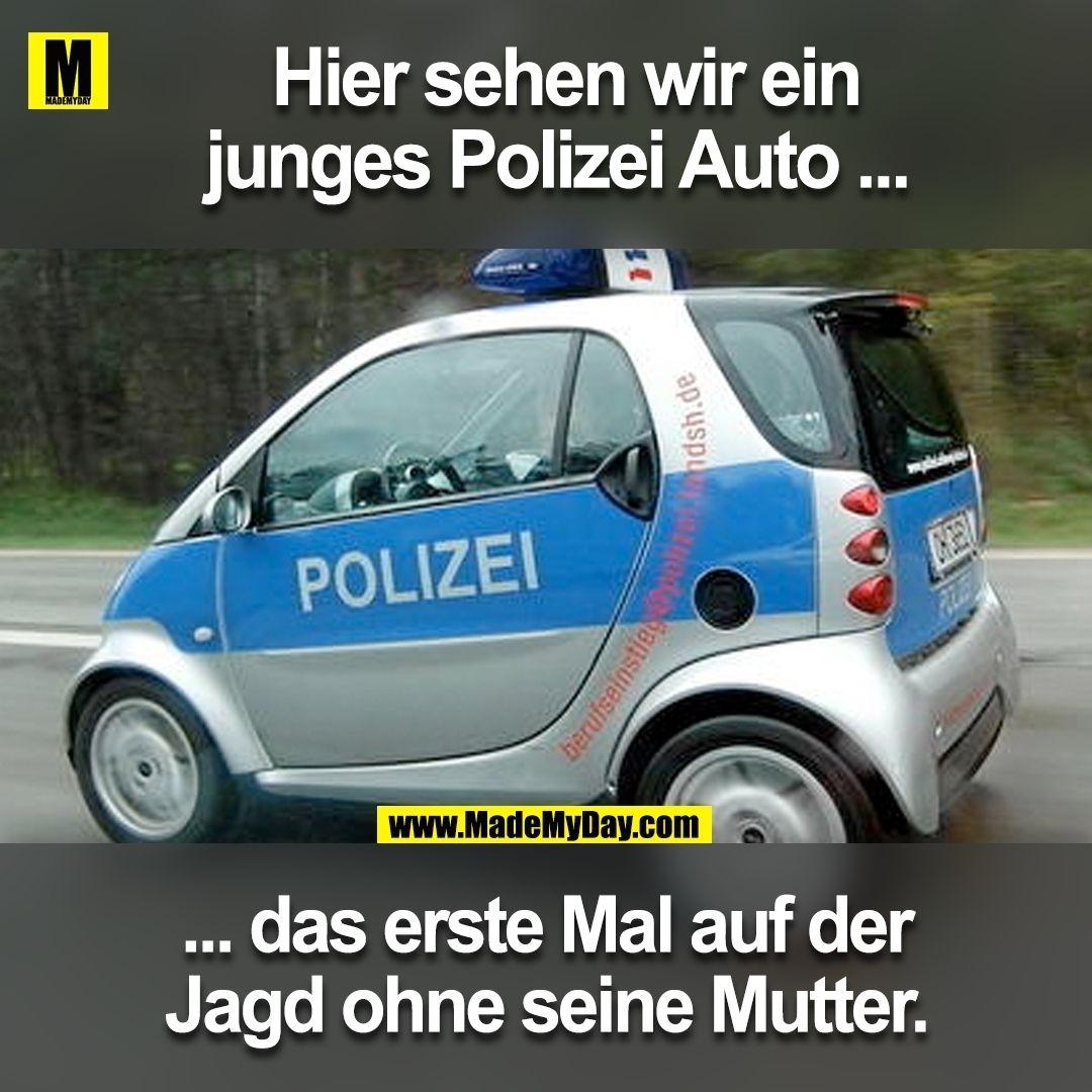 Polizeiauto Müde