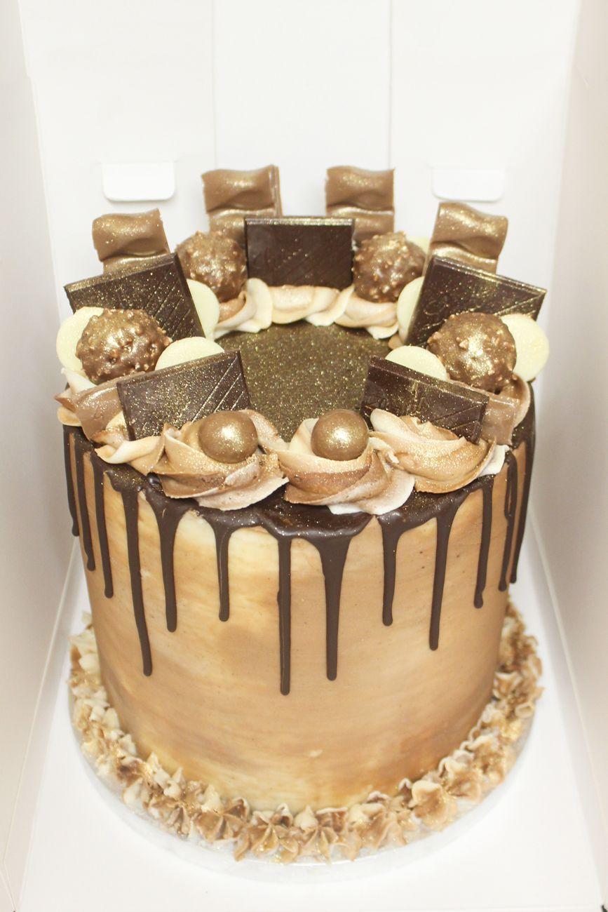 Kaiesha Bakes Chocolate Drip Cake Drip Cakes And Chocolate