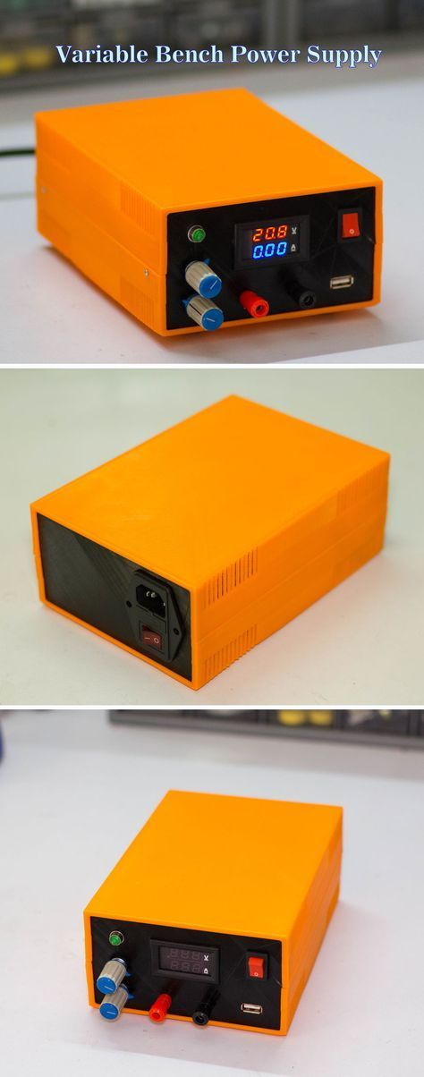 How to Make a Bench Power Supply   Bench, Electronics projects and ...