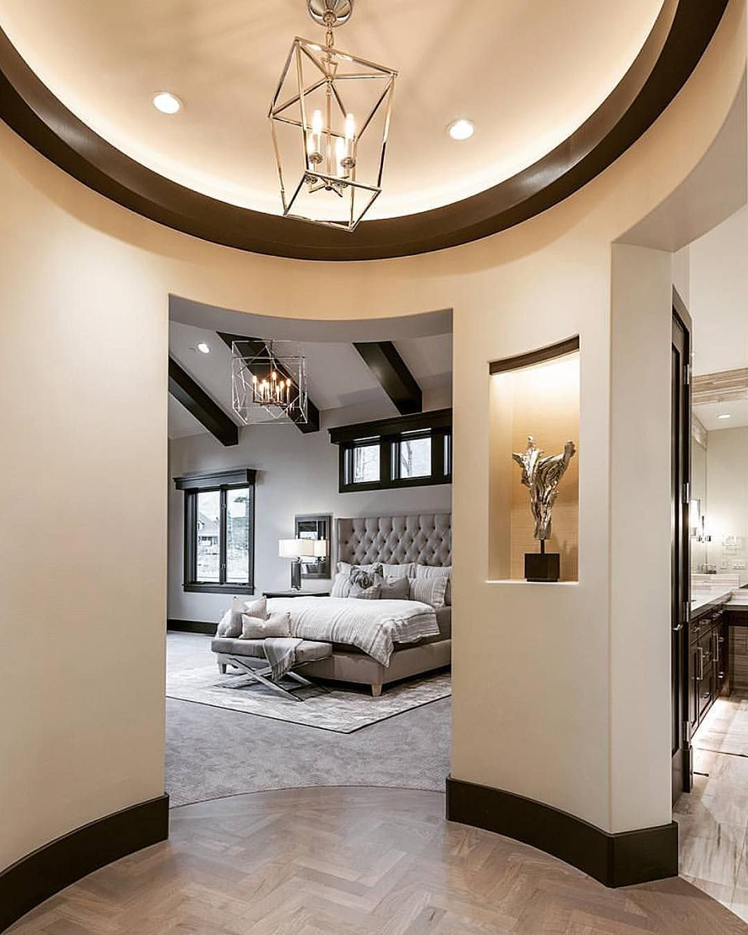 Spectacular Master Suite Entrance By Cameohomesinc Home Decor
