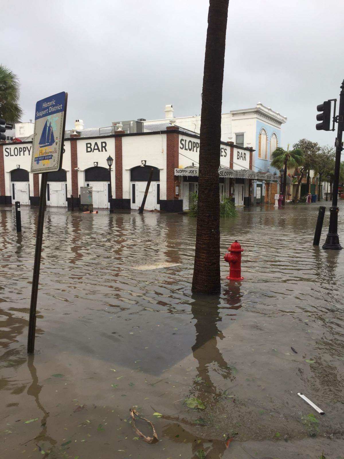 Sloppy Joe s in Key West after Hurricane Irma